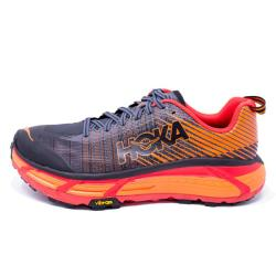 HOKA ONE ONE - EVO MAFATE 2 - Black / Poppy Red