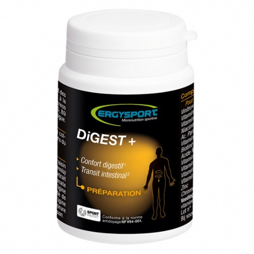 DIGEST+ ERGYSPORT - 60 GELULES - PREPARATION