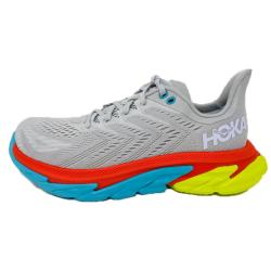 HOKA ONE ONE - CLIFTON EDGE - Lunar Rock / White
