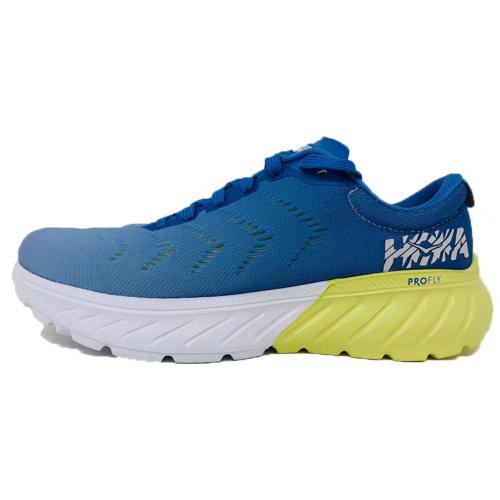 HOKA ONE ONE - MACH 2 W - Palace Blue / Lime Sherbet